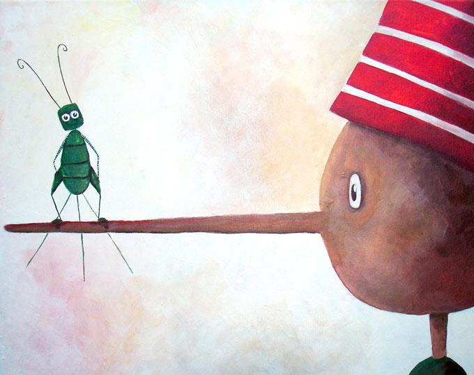 Collodi und der Park von Pinocchio